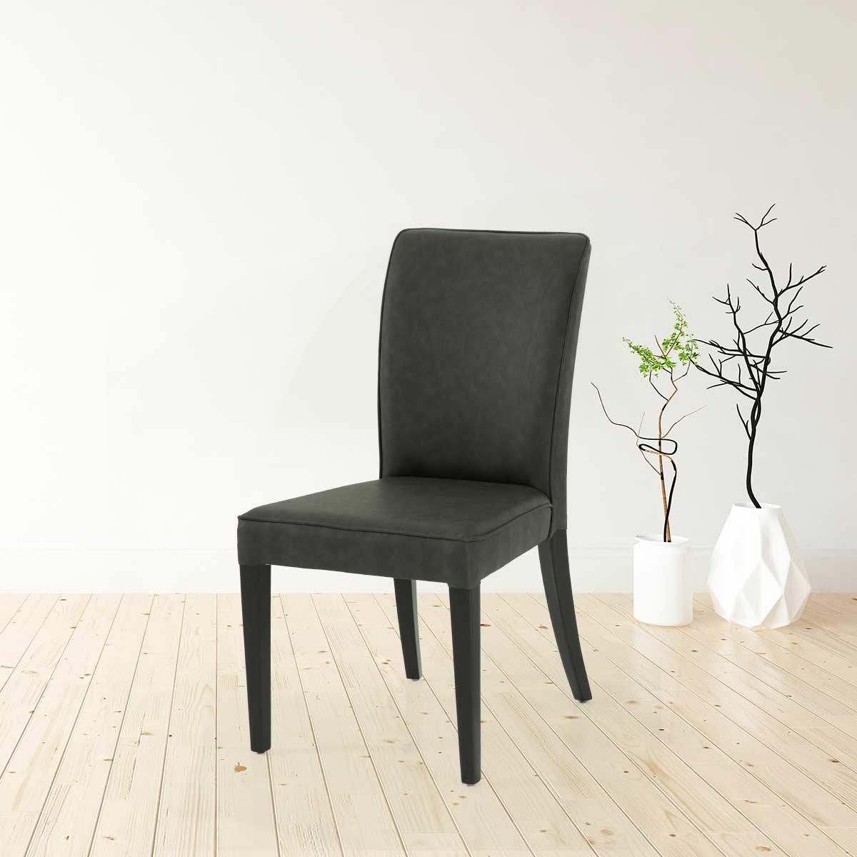 כיסא גלוריה דמוי עור